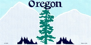 Oregon  Blank License Plate Vinyl Cricut Pazzles