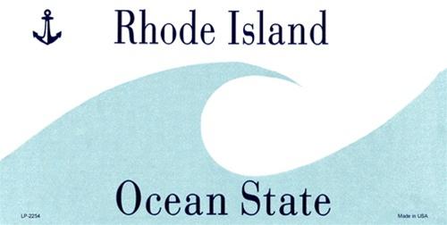 Rhode Island Blank Plates