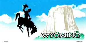 Wyoming Blank License Plate Vinyl Cricut Pazzles