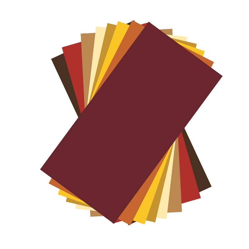Autumn Colors Adhesive Vinyl Sheets Pack