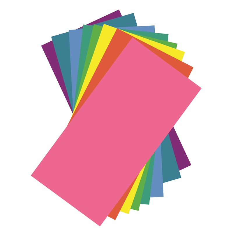 Rainbow Colors Adhesive Vinyl Sheets Pack