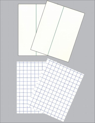Transfer Paper Trial Pack- 2 Sheets Quick 'n Easy Premium & 2 Sheets Dark 'n Easy