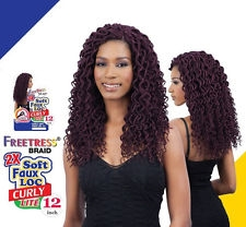 Freetress 2X Curly Faux Locs