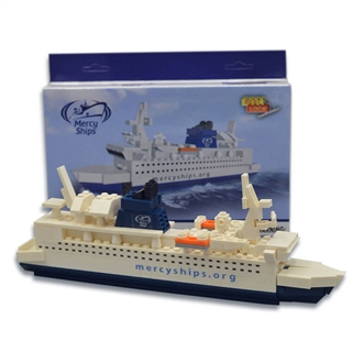 Mercy Ships - Building Blocks Toy Ship