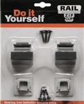 Rail Zip Clip w/ 2 Flat Shoes ( LC-Zip 16.3.1 ) Accessories