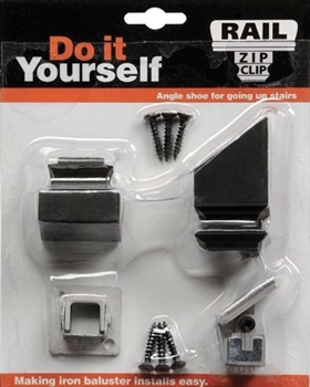 Rail Zip Clip w/ 1 Flat & Pitched Shoe ( LC Zip 16.3.2 ) Accessories