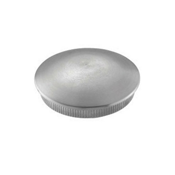 Stainless Steel End Cap Rounded for Rounded for Tu