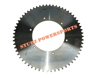 54T Live Axle Sprocket for #41/420/40 chain, 6 bolt pattern measuring 5 1/4""