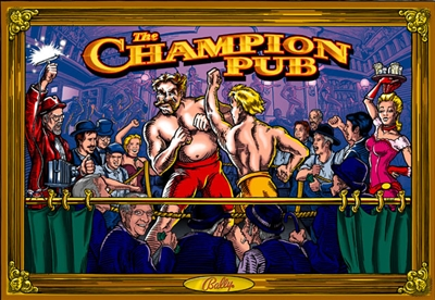 ColorDMD for a Champion Pub
