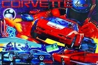 ColorDMD for a Corvette Pinball Machine