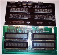Data East & Williams DIS200 4 player Alphanumeric display