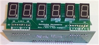 Replacement Bally/Stern Display 6 Digit-Set of Five