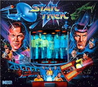 H-LED ColorDMD Display 128 x 16 for DE Star Trek 25th Anniversary