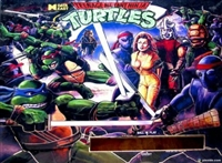 H-LED ColorDMD Display 128 x 16 for DE Teenage Mutant Ninja Turtles.
