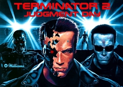 ColorDMD for a Terminator 2 Pinball Machine