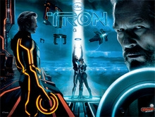 ColorDMD Stern Tron Pinball