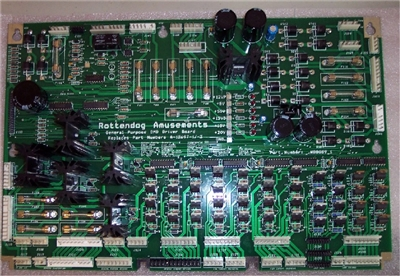 WPC + WPC-S - Power Supply/Driver Board
