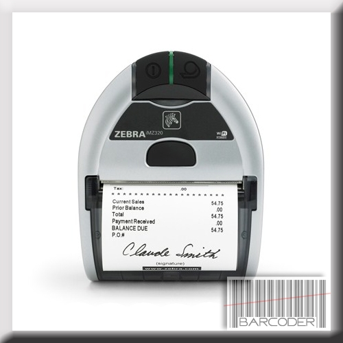 Zebra iMZ320 direct thermal receipt printer for iOS, Android and Windows  Operating Systems  3