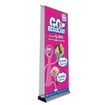 Advance Double Sided Retractable Banner Stand [Complete]