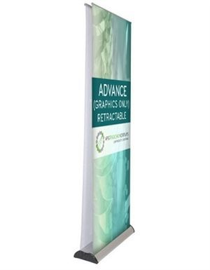 Advance Double Sided Retractable Banner Stand [Graphics Only 1 Side]