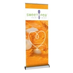 Barracuda 800 Retractable Banner Stand [Complete]