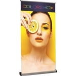 Barracuda 1200 Retractable Banner Stand [Complete]