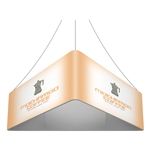 Trio Blimp Straight Triangle Hanging Sign - 08 ft x 42 in [Complete]
