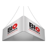 Trio Blimp Straight Triangle Hanging Sign - 15 ft x 42 in [Complete]