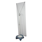 Blizzard Outdoor Banner Stand [Hardware Only]