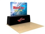 Waveline 8 ft Curved Table Top Tension Fabric Display [Complete]