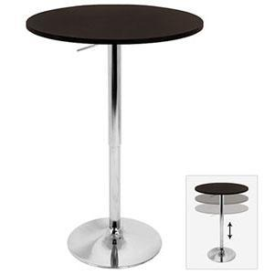 Shifter Adjustable Height Bar Table