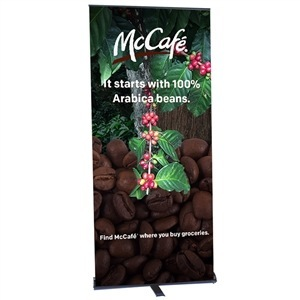 Contender Mega Retractable Banner Stand [Graphics Only]