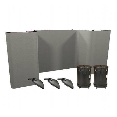 Horseshoe Coyote Full Fabric Panel Deluxe Kit
