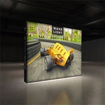 WaveLight Casonara LED Backlit Tradeshow Display - 10FT