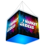 4FT x 4FT Formulate Master 3D Hanging Structure Backlit Cube [Graphic Only]