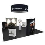 Cyclone 20X20 Tension Fabric Trade Show Exhibit Kit