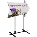 Contour Arrow Side Outdoor Sign