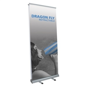 Dragon Fly Double-Sided Retractable Banner Stand [Graphics Only]