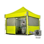 10x10 Emergency Medical Containment Cube Tent