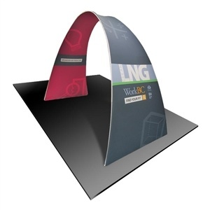 Formulate 10' Arch - Tension Fabric Trade Show Display