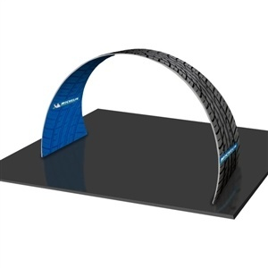 Formulate 20' Arch - Tension Fabric Trade Show Display - [Graphics Only]