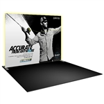 Formulate Master 10 FT Backlit Straight Tension Fabric Display