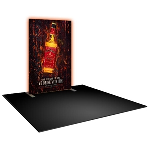 Formulate Master 5 FT Backlit Straight Tension Fabric Display