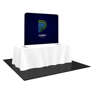 6FT Wide Tabletop Custom Video Backdrop Display