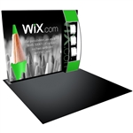 Formulate S5 Straight Backwall Tension Fabric Display [GFX Only]