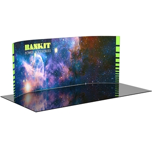 Formulate WH1 - 20' Curved Fabric Trade Show Display [GFX Only]