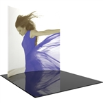 Formulate 10ft Horizontal Curve 10ft Tall Backwall Tension Fabric Display [Graphics Only]