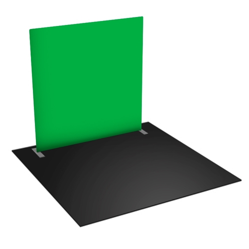 Green Screen Video Backdrop - 8 FT w x 8 FT h