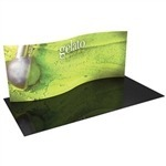 Formulate WSC1 - 20' S-Curved Fabric Trade Show Display [GFX]