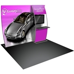 Formulate 10FT Vertical Curve 7 Tension Fabric Display